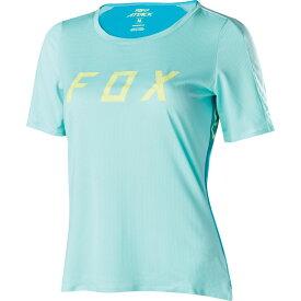 フォックス Fox レディース 自転車 トップス【Attack Bike Jersey】Ice Blue