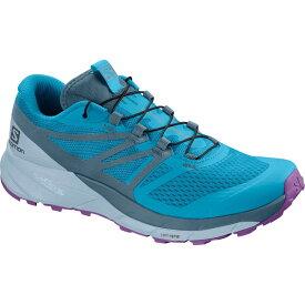 サロモン Salomon レディース ランニング・ウォーキング シューズ・靴【Sense Ride 2 Trail Running Shoes】Cyan Blue/Mallard Blue/Cashmere Blue