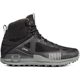 アンダーアーマー Under Armour メンズ ハイキング・登山 シューズ・靴【Verge 2.0 Mid Gore-Tex Hiking Boots】Black/Black/Nori Green