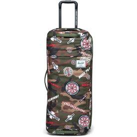 ハーシェル サプライ Herschel メンズ スーツケース・キャリーバッグ バッグ【x Independent Wheelie Outfitter 120 Travel Bag】Woodland Camo Multi Ind Logo/Cypress