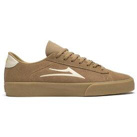 ラカイ Lakai メンズ スケートボード シューズ・靴【Newport Skate Shoes】Tan/Gum Suede