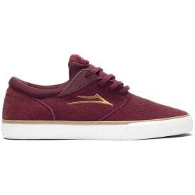 ラカイ Lakai メンズ スケートボード シューズ・靴【Fremont VLC Skate Shoes】Burgundy Suede