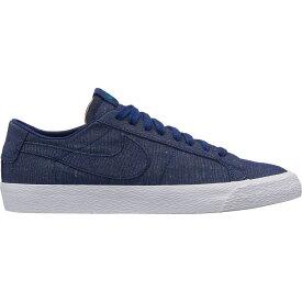 ナイキ Nike メンズ スケートボード シューズ・靴【SB Zoom Blazer Low Canvas Deconstructed Skate Shoes】Blue Void/Blue Void/Geode Teal
