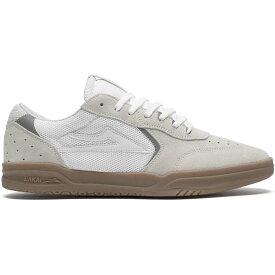 ラカイ Lakai メンズ スケートボード シューズ・靴【Atlantic Skate Shoes】White Suede