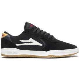 ラカイ Lakai メンズ スケートボード シューズ・靴【Atlantic Skate Shoes】Black/Yellow Suede