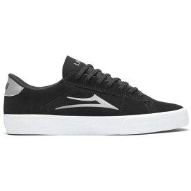 ラカイ Lakai メンズ スケートボード シューズ・靴【Newport Skate Shoes】Black/Light Grey Suede