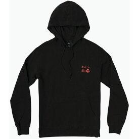ルーカ RVCA メンズ スキー・スノーボード パーカー トップス【ANP Pack Hoodie】Black