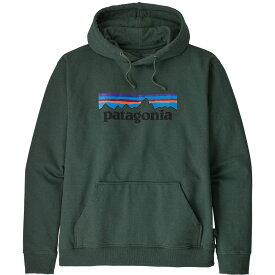 パタゴニア Patagonia メンズ スキー・スノーボード パーカー トップス【P-6 Logo Uprisal Hoodie】Alder Green