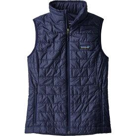 パタゴニア Patagonia レディース スキー・スノーボード ベスト・ジレ ダウン・中綿 トップス【Nano Puff Vest】Classic Navy