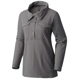 マウンテンハードウェア Mountain Hardwear レディース トップス 【Citypass L/S Popover Shirt】Manta Grey