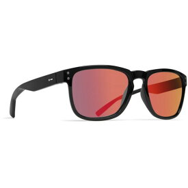 ドットダッシュ Dot Dash メンズ メガネ・サングラス 【Bootleg Sunglasses】Black Gloss/Red Chrome Lens