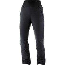 サロモン Salomon レディース スキー・スノーボード ボトムス・パンツ【Icefancy Ski Pants】Black