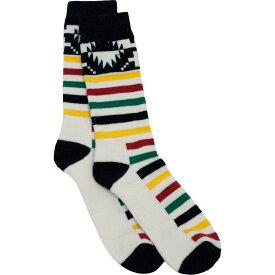 ペンドルトン Pendleton レディース ソックス インナー・下着【Glacier Park Socks】Ivory