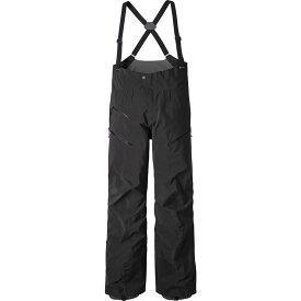 パタゴニア Patagonia レディース スキー・スノーボード ビブパンツ ボトムス・パンツ【PowSlayer Bib Pants】Black