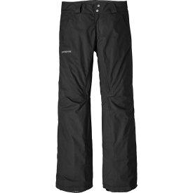 パタゴニア Patagonia レディース スキー・スノーボード ボトムス・パンツ【Insulated Snowbelle Pants】Black