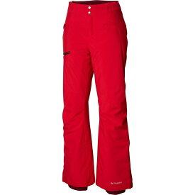 コロンビア Columbia レディース スキー・スノーボード ボトムス・パンツ【Wildside Pants】Red Mercury