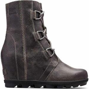 ソレル Sorel レディース ブーツ ウェッジソール シューズ・靴【joan of arctic wedge ii boots】Quarry