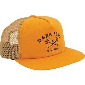 ダークシーズ Dark Seas レディース キャップ トラッカーハット 帽子【Tridents Trucker Hat】Gold