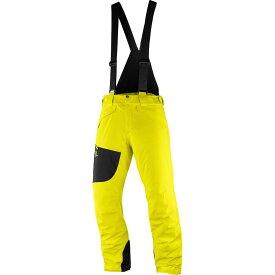サロモン Salomon メンズ スキー・スノーボード ビブパンツ ボトムス・パンツ【Chill Out Bib Pant】Sulphur Spring
