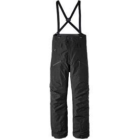 パタゴニア Patagonia メンズ スキー・スノーボード ビブパンツ ボトムス・パンツ【PowSlayer Bib Pants】Black