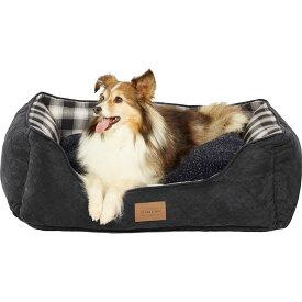 Pendleton ペンドルトン ペットグッズ 犬用品 ベッド・マット・カバー ベッド【Charcoal Ombre Kuddler Bolster Dog Bed w/Removable Cover】