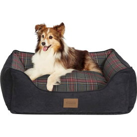 Pendleton ペンドルトン ペットグッズ 犬用品 ベッド・マット・カバー ベッド【Grey Stewart Kuddler Bolster Dog Bed w/Removable Cover】