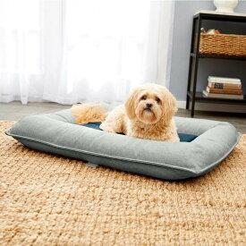Frisco フリスコ ペットグッズ 犬用品 ベッド・マット・カバー ベッド【Orthopedic Bolster Dog Bed w/Removable Cover】Harbour Blue
