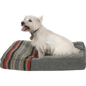 Pendleton ペンドルトン ペットグッズ 犬用品 ベッド・マット・カバー ベッド【Yakima Camp Pillow Dog Bed w/Removable Cover】Heather Green