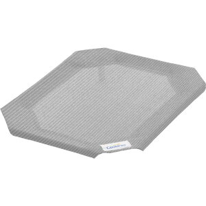 Coolaroo クーラールー ペットグッズ 犬用品 ベッド・マット・カバー ベッド【Replacement Cover for Steel-Framed Elevated Dog Bed】Grey