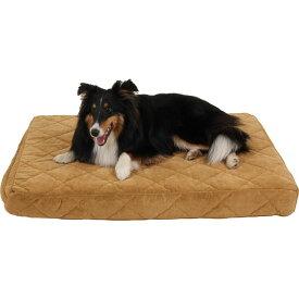 Carolina Pet カロリナ ペットグッズ 犬用品 ベッド・マット・カバー ベッド【Protector Pad Jamison Orthopedic Pillow Dog Bed w/Removable Cover】Saddle