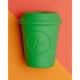 SODA PUP ソーダパップ ペットグッズ 犬用品 おもちゃ 【Durable Coffee Cup Toy】Green
