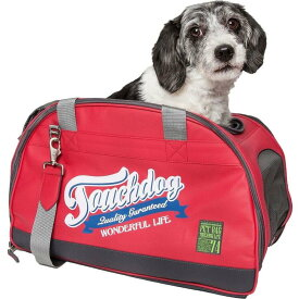 Pet Life Central ペットライフセントラル ペットグッズ 犬用品 キャリーバッグ 【Touchdog Original Wick Guard Water Resistant Fashion Pet Carrier】Red
