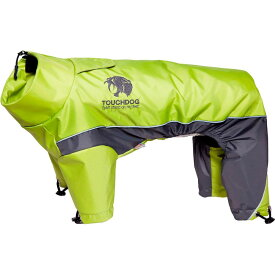 Touchdog タッチドッグ ペットグッズ 犬用品 ウェア 【Quantum-Ice Full-Bodied Adjustable and 3M Reflective Dog and Cat Jacket with Blackshark Technology - Green】