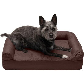 FurHaven ファーヘイヴン ペットグッズ 犬用品 ベッド・マット・カバー ベッド【Quilted Full Support Sofa Dog Bed】coffee