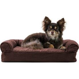 FurHaven ファーヘイヴン ペットグッズ 犬用品 ベッド・マット・カバー ベッド【Quilted Memory Foam Sofa Dog Bed】coffee