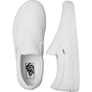 ヴァンズ Vans メンズ スリッポン・フラット シューズ・靴【- Classic Slip-On True White - Shoes】white