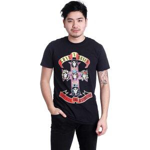 インペリコン Impericon メンズ Tシャツ トップス【- Appetite For Destruction - T-Shirt】black