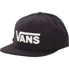 ヴァンズ Vans ユニセックス キャップ 帽子【- Drop V II Black/White - Cap】black