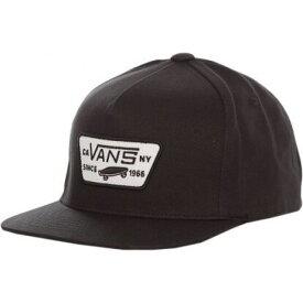 ヴァンズ Vans ユニセックス キャップ 帽子【- Full Patch True Black - Cap】black