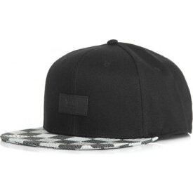ヴァンズ Vans ユニセックス キャップ チェッカーフラッグ 帽子【- Allover It Black/White Checkerboard - Cap】black