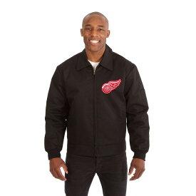 JH デザイン JH Design メンズ アウター ジャケット【Detroit Red Wings Adult Workwear Jacket】Black