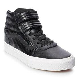 ヴァンズ Vans レディース シューズ・靴 スニーカー【Ward Hi V Casual Shoe】Black/White