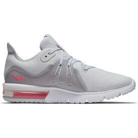 ナイキ Nike レディース ランニング・ウォーキング シューズ・靴【Air Max Sequent 3 Running Shoe】Grey/Pink