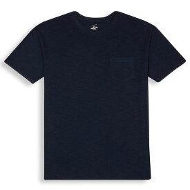 ビバリーヒルズポロ BHPC メンズ トップス Tシャツ【Slub Pocket Crewneck Shirt】Navy