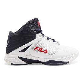 フィラ Fila メンズ バスケットボール シューズ・靴【Torranado 5 Basketball Shoe】White/Navy/Red
