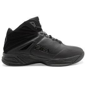 フィラ Fila メンズ バスケットボール シューズ・靴【Torranado 5 Basketball Shoe】Black/Black