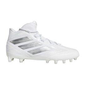 アディダス adidas メンズ アメリカンフットボール スパイク シューズ・靴【Freak Carbon Mid Football Cleats】White/Silver