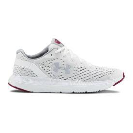 アンダーアーマー Under Armour レディース ランニング・ウォーキング シューズ・靴【Charged Impulse Running Shoe】White/Pink