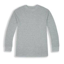 ビバリーヒルズポロ BHPC メンズ 長袖Tシャツ トップス【Long Sleeve Crewneck Knit T-Shirt】Grey Heather