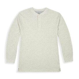 ビバリーヒルズポロ BHPC メンズ 長袖Tシャツ トップス【Long Sleeve Crewneck Knit T-Shirt】Stone